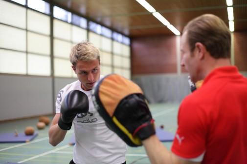 Kalorien k.o schlagen mit Boxfitness in Salzburg