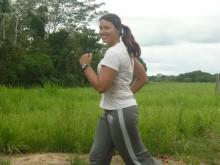 joggen in Bolivien